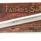 CONAN THE BARBARIAN ( sharpened) MUSEUM REPLICA LIMITED FATHER SWORD WINDLASS