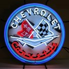 Chevrolet Corvette Neon Sign - Silkscreen Backing - New