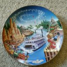 Disney mickey mouse frontierland limited edition art plate