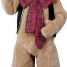 high quality deluxe Christmas Pot-Belly Bear Mascot Costume suit large