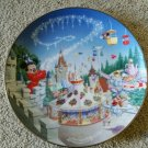 Disney mickey mouse fantasyland limited edition art plate