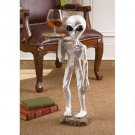 Roswell Alien Butler halloween Statue Holding Tray coffee table prop NEW 2 FT