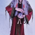 LIFESIZE moving speaking WITCH haunted house HALLOWEEN ANIMATED PROP WATCH VIDEO