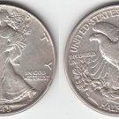 NICE AU 1945 L.  W. HALF DOLLAR