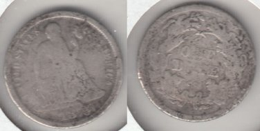 1875CC IN WREATH SEATED DIME