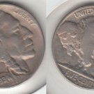 FULL HORN VF 1934D BUFFALO NICKEL