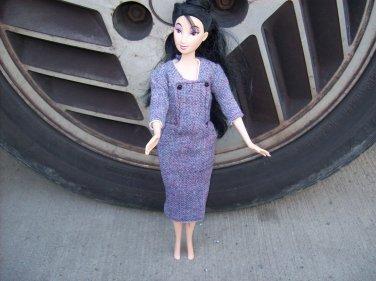 Handmade 1950's Style Dress For Barbie & Friends