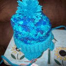 Hand Crocheted Hat For Kids In Ocean