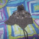 Hand Crocheted Hat For Kids In Dove