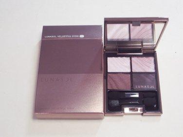 Kanebo Lunasol Velvetful Eyes #01 Deep Bordeaux Velvet