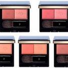 Shiseido Cle de Peau Beaute Powder Blush Duo 2015 versoin refill with case