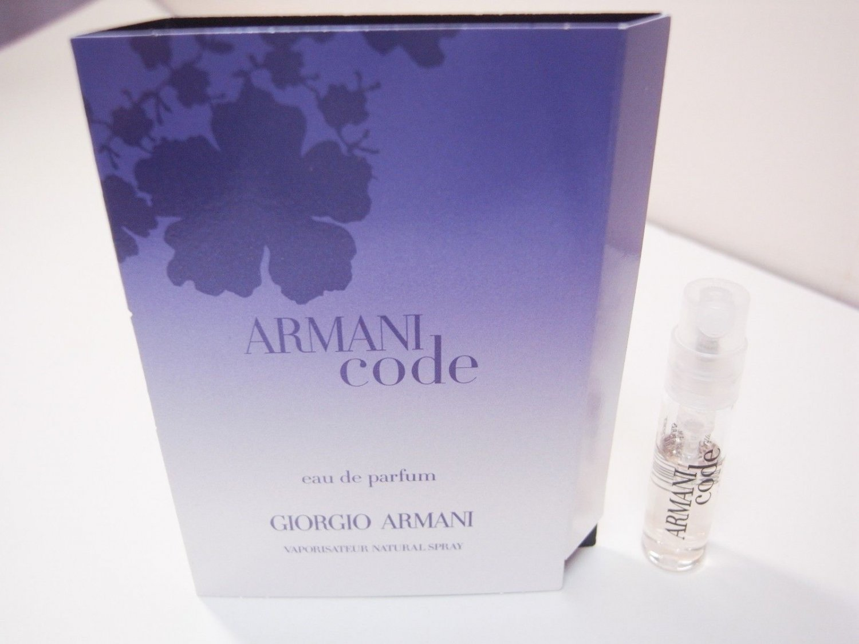 Giorgio Armani Armani Code eau de parfum spray 1.5ml vial