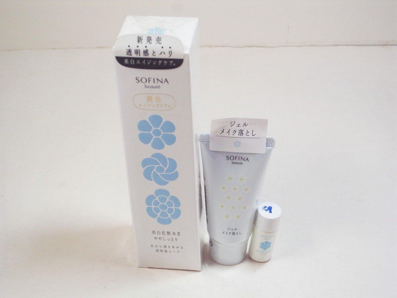 Sofina Beaute Whitening Lotion II light 160ml toner w/ cleanser emulion