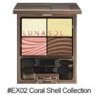 Kanebo Lunasol Clear Colorful Eyes #EX02 Coral Shell Collection 2016