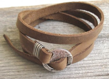 Men's Bracelet - Men's Leather Bracelet - Men's Jewelry - Men's Gift - Boyfriend Gift