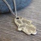 Men's Necklace - Men's Hamsa Necklace - Men's Judaica Necklace - Mens Jewelry