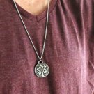 Men's Necklace - Men's Tree Of Life Necklace - Men's Silver Necklace - Mens Jewelry