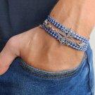 Men's Bracelet - Men's Compass Bracelet - Men's Jewelry - Husband Gift - Boyfriend Gift - Vegan