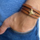 Men's Bracelet - Men's Tail Bracelet - Men's Leather Bracelet - Men's Jewelry - Men's Gift