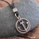 Men's Necklace - Men's Anchor Necklace - Men's Silver Necklace - Mens Jewelry