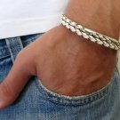 Men's Bracelet - Men's Tube Bracelet - Men's Leather Bracelet - Men's Jewelry - Men's Gift