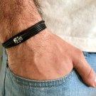 Men's Bracelet - Men's Skull Bracelet - Men's Jewelry - Men's Gift - Boyfriend Gift