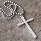 Men Religious Necklace - Men Cross Pendant - Men Cross Necklace - Men Christian Necklace