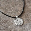 Men's Cross Necklace - Men's Christian Necklace - Men's Cross Pendant - Men's Religious Necklace
