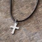 Men's Cross Necklace - Men's Christian Necklace - Men's Cross Pendant - Men's Religious Necklace