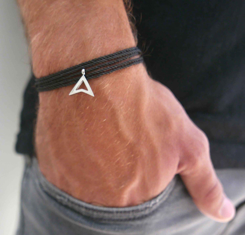 Men's Bracelet - Men's Vegan Bracelet - Men's Jewelry - Men's Gift - Boyfriend Gift