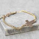 Men's Cross Bracelet - Men's Religious Bracelet - Men's Christian Bracelet - Men's Chain Bracelet