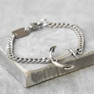 Men's ANCHOr Bracelets - Men's Chain Bracelet - Men's Silver Bracelets - Men's Jewelry