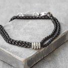 Men's Bracelet - Men's Black Bracelets - Men's Chain Bracelets - Men's Jewelry - Men's Gift