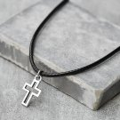 Men's Cross Pendant - Men's Cross Necklace - Men's Christian Necklace - Men's Religious Necklace