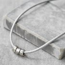 Men's Necklace - Men's Black Necklace - Men's Bead Necklace - Men's Jewelry - Gift For Him