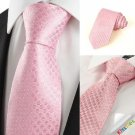 Classic Pink Dot JACQUARD Men's Tie Necktie Wedding Holiday Valentine Gift #0026