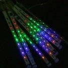 Multi Color LED Meteor Shower Rain Tube Lights Outdoor Tree Decoration