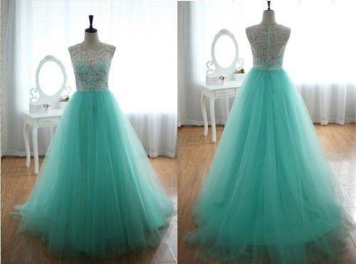 A Line Prom Dress Party Homecoming Evening Dress Fashion Quinceanera Dress