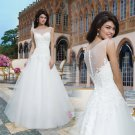 White Ball Gown Wedding Dress Plus Size Bridal Gown lace wedding dress