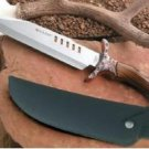 Maxam Hunting Knife with Sheath  Collectible Sports Knive Leather case