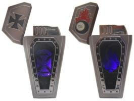 Coffin Shaped Lighter with Magic Mirror Awesome Butane Refillable Many Options