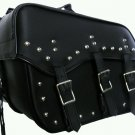Detachable Motorcycle Saddle bags Quick release Zip Off  Steel reinforced new
