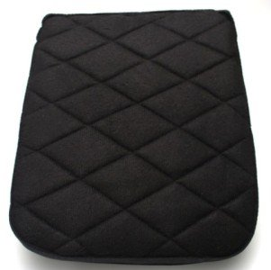 Motorcycle Rear Back Seat Gel Pad Cushion for Harley Davidson Dyna & Softail