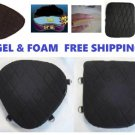 Driver & Passenger Seats Gel Pads Set for Harley Ultra Classic Electra Glide lrg