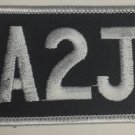 A2J Patch Christian Biker motorcycle Patches For Jacket vest  A to Jesus New
