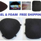 Motorcycle Seat Gel Pads Driver Back Or Both Seats For Harley Dyna Wide Glide
