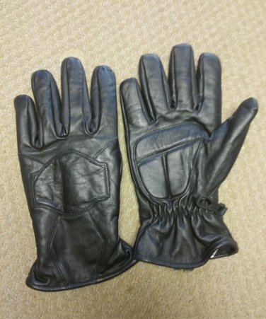 Premium Lambskin Leather Motorcycle Winter Gloves Thinsulate LINED Gel Palm