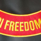 US MARINES CORPS IRAQI FREEDOM VET PATCH MARINE PATCHES FOR VEST JACKET NEW