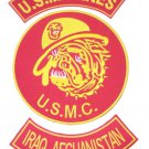 US MARINES CORPS MARINE BULL DOG IRAQ AFGHANISTAN PATCH SET FOR VEST JACKET NEW