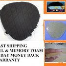 Motorcycle Gel Pad Driver Seat For Harley Davidson FXCW Rocker Classic  & C